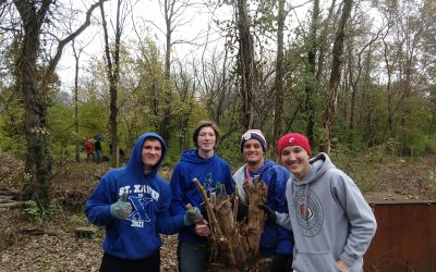 Fun volunteer events have led to improved habitat